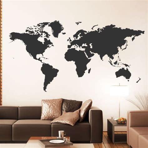 An Die Wand Malen by Weltkarte Auf Wand Malen Wie Kunst
