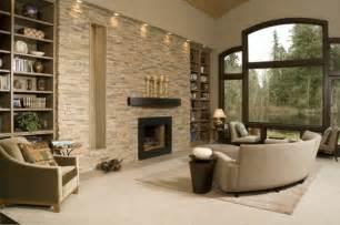 steinwand wohnzimmer kamin steinwand wohnzimmer 43 beispiele wie steine auf das ambiente wirken
