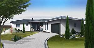 modeles maisons maison moderne With modele plan de maison 1 maison contemporaine modele