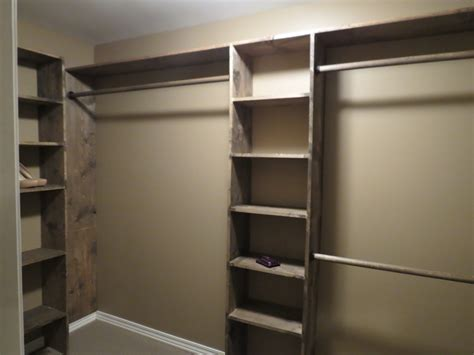 shelves for closet let s just build a house walk in closets no more living
