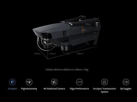 dji mavic pro mini platinum drone generix llc