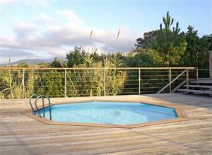 Piscines Semi Enterrées : l installation d une piscine hors sol ou semi enterr e ~ Zukunftsfamilie.com Idées de Décoration