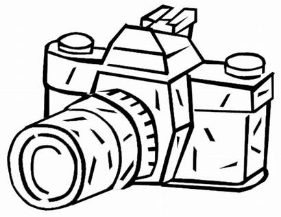 Camera Coloring Pages Printable Clipart Template Rugrats