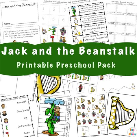 free and the beanstalk activities with 231 | Jack and the Beanstalk I