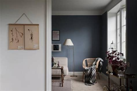 grayish blue  pink color scheme  beautiful interior