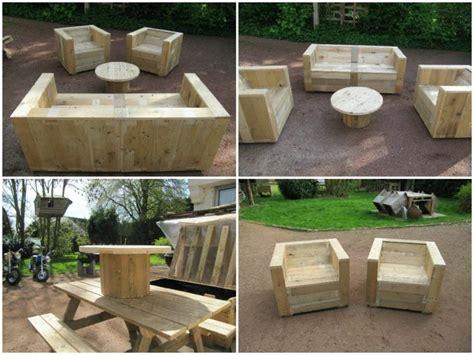 meubles palettes en bois diy en 99 id 233 es cr 233 atives