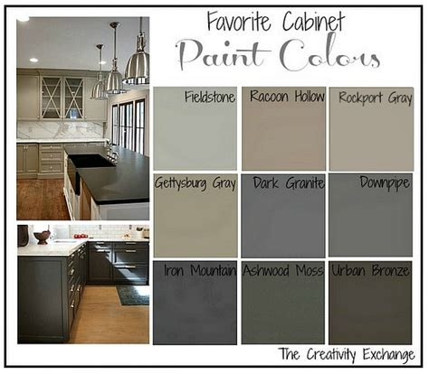 paint colors for cabinets in kitchen cabinet paint colors on