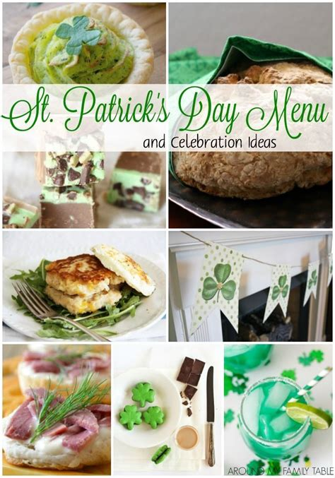 A delicious, but easy christmas dinner with all the trimmings from the christmas kitchen team. St. Patrick's Day Menu and Celebration Ideas | St patricks day food, St patrick's day menu ...