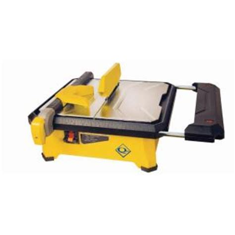 Cutting Glass Tile With Saw by Qep 3 4 Hp Tile Saw With 7 In Blade 22650q