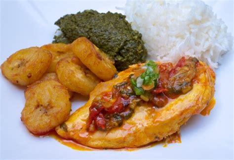 cuisine banane plantain poulet à l 39 huile de palme sauvage food la