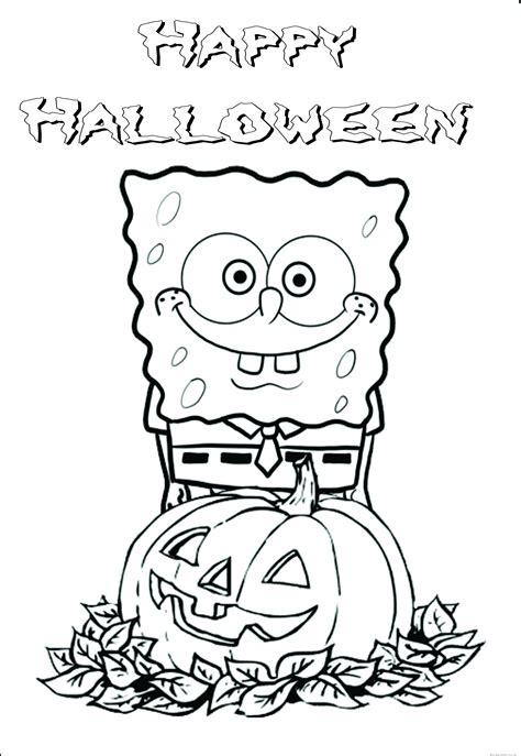 printable halloween spongebob coloring pagesfree printable coloring pages  kids