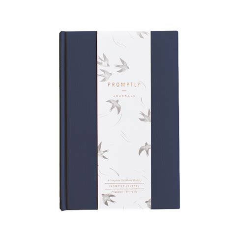 Promptly Journals Childhood Memory Journal - Baby Book