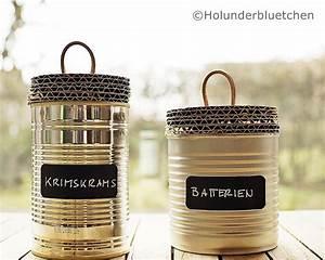 Dosen Basteln Anleitung : dosen upcycling handmade kultur ~ Lizthompson.info Haus und Dekorationen