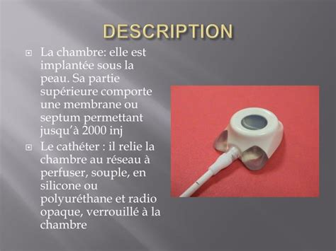 chambre implantable has ppt chambre implantable powerpoint presentation id 952191