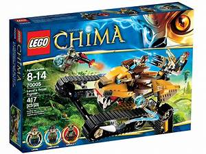 Lavalu2019s Royal Fighter 70005 Legends Of Chimau2122 Brick