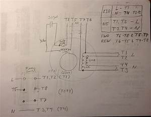 Fs  Original Motor For 10 Heavy 3  4 Hp  Wiring Diagram For 8 Lead Dumore For Ref