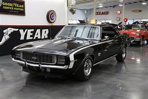 1969 Chevrolet Camaro Rs  Ss 396 L78 126 Miles Black 396 V8