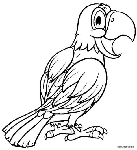 parrot coloring page parrot coloring pages for adults coloring pages