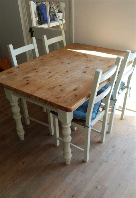 Kitchen Table And Chairs Gumtree Tyne And Wear by Upcycled Dining Table And Chairs In Shields Tyne