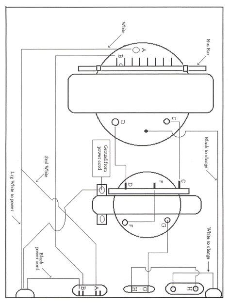 Golf Cart Battery Diagram by Vintagegolfcartparts