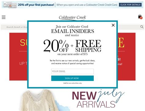 19659 Coldwater Creek Free Shipping Coupon Code by Coldwater Creek Coupons Discount Codes