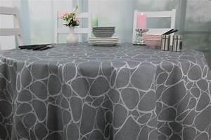 Abwaschbare Tischdecke Rund : abwaschbare tischdecke grau steinmuster mosaik rund gr e ~ Michelbontemps.com Haus und Dekorationen