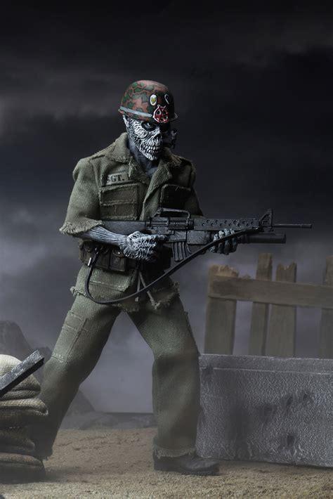 "S.O.D. – 8"" Clothed Action Figure – Sgt. D   NECAOnline.com"