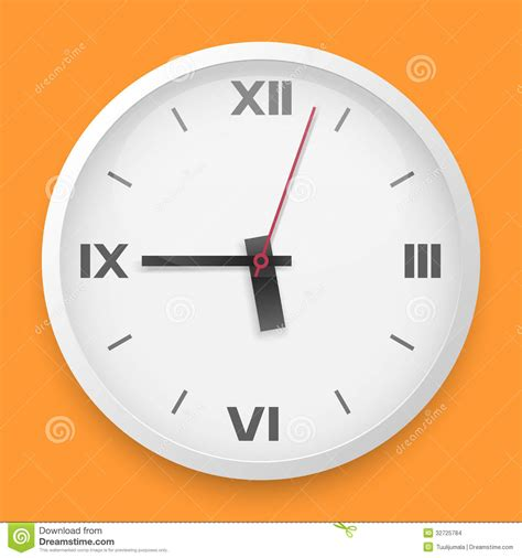 wall clock template stock images image