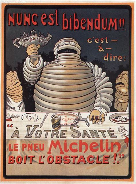 michelin tyres vintage ad posters