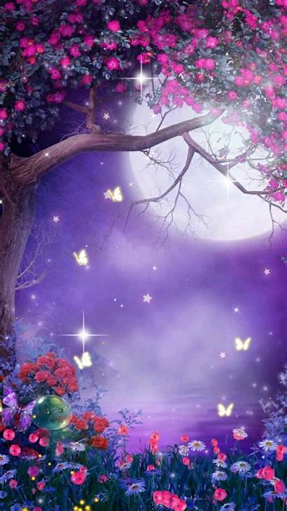 Fairy Background Flower Desktop Backgrounds Flowers Wallpapers