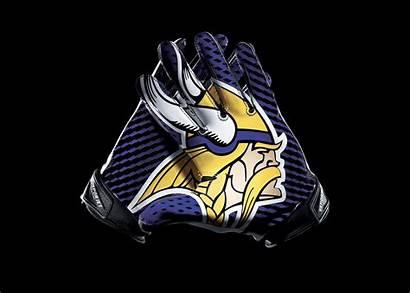 Vikings Minnesota Nfl Wallpapers Football Gloves Nike