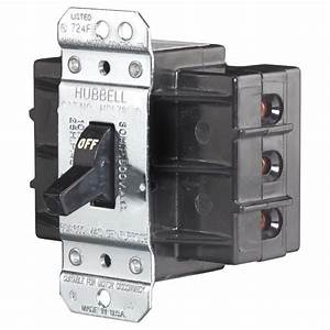 Hubbell Manual Toggle Disconnect Switch