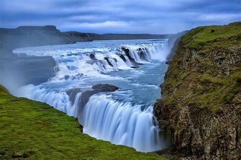 Gullfoss Waterfall Backgrounds by Gullfoss Waterfall Image Cool Gullfoss Waterfall 19269