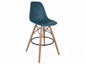 Chaise De Bar Bleu : chaise de bar dsb bleu vert ~ Teatrodelosmanantiales.com Idées de Décoration