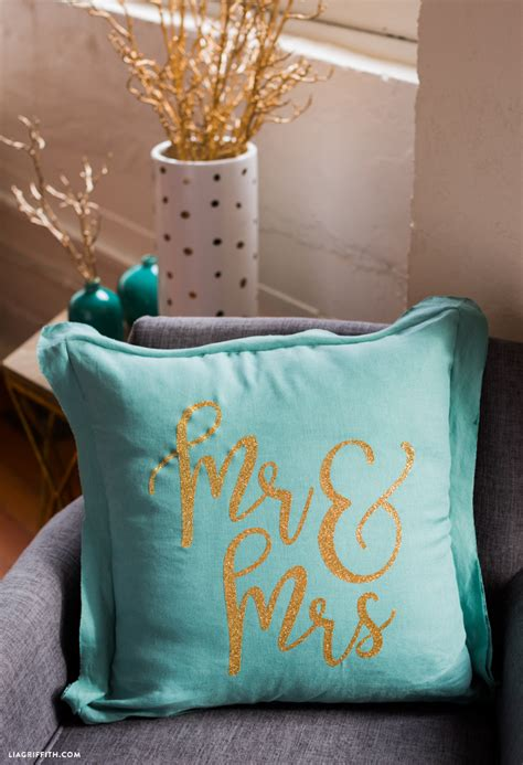 mr and mrs pillows mr and mrs pillows for newlyweds lia griffith