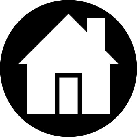 Ariehub: Transparent Background Home Vector Icon Png