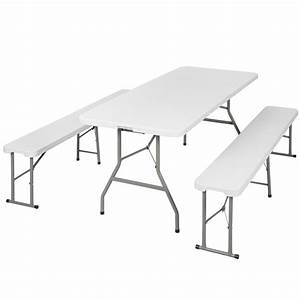 Table De Camping Leclerc : table bancs camping pliable ensemble table buffet banc ~ Dailycaller-alerts.com Idées de Décoration