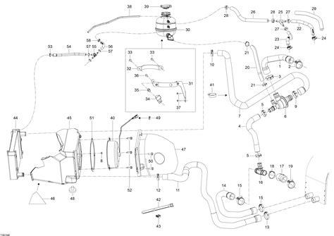 Skandic Wiring Diagram by каталог запчастей для Brp Skandic Wt 600 E Tec 2015 года
