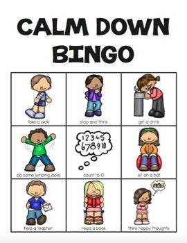 coping skills bingo 2 different versions by one 184 | original 394826 3