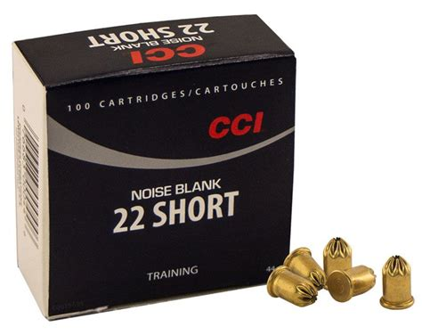 CCI 22 cal. Smokeless Crimped Blanks -- 100 ct. $16.95.