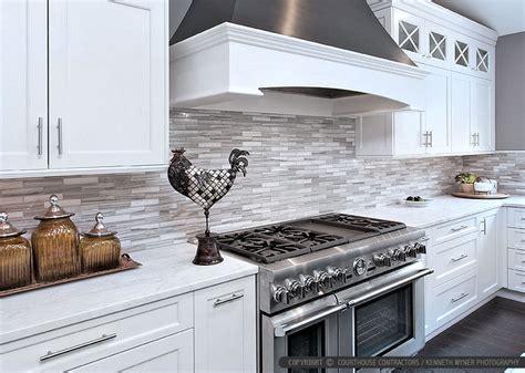 backsplash white kitchen white modern kitchen with marble subway tile backsplash