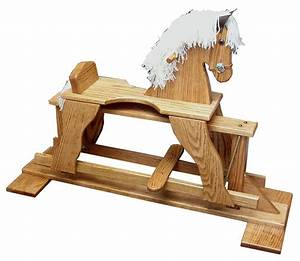 Wooden Glider Horse Plans, How To Build A Storage Bed