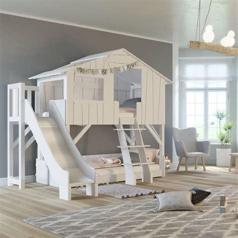 Tree House Bunk Beds For Sale - treehouse bunk bed with slide 187 petagadget