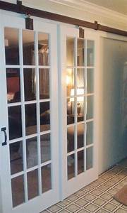 177 best images about decorating ideas on pinterest With barn door style french doors