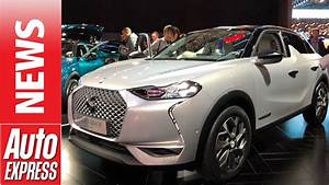 Ds 3 Crossback : new ds 3 crossback small suv revealed at paris motor show youtube ~ Medecine-chirurgie-esthetiques.com Avis de Voitures