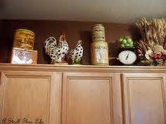 kitchen cabinet decals 69 best cabinet top decorating images on top 2450