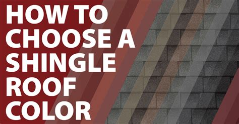 How To Choose A Shingle Roof Color  Canton Mi