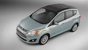 Ford C-Max Solar Energi Concept: Using The Sun To Charge