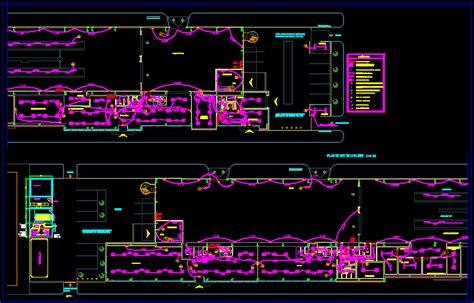 electrical installation  workshop dwg block  autocad