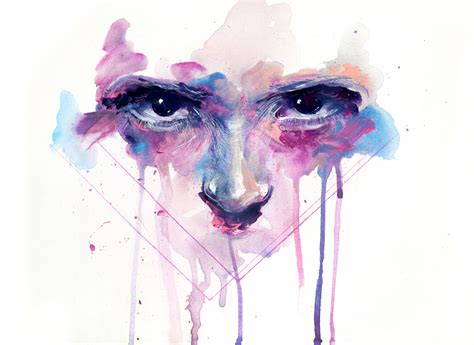 All Eyes _ Some Paintings By Agnes-cecile